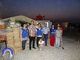 The distribution of aid to Syrian refugees in Erbil